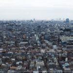東京 上空